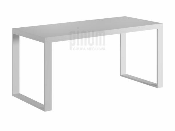 białe biurko loft