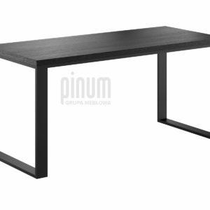 czarne biurko loft